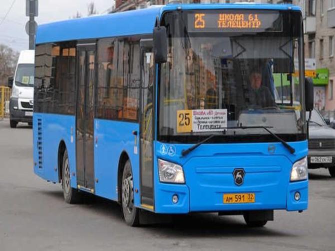 В Брянске автобус №25 проигнорировал остановку