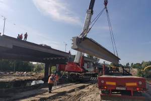 В Брянске ускорили темп строительства Литейного моста