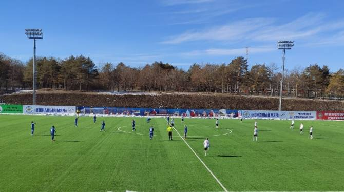 Брянское «Динамо» обыграло в товарищеском матче таганрогский «Форте»