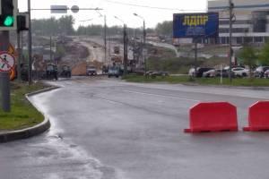 В Брянске водителям разрешили ездить по закрытому участку Объездной