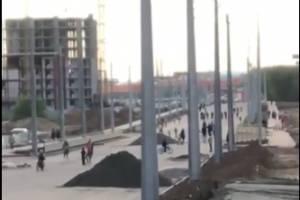 В самоизолированном Брянске сняли на видео толпы на улице Советской