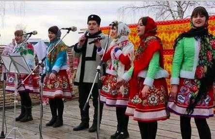 Брянцев позвали отметить Масленицу с казаками