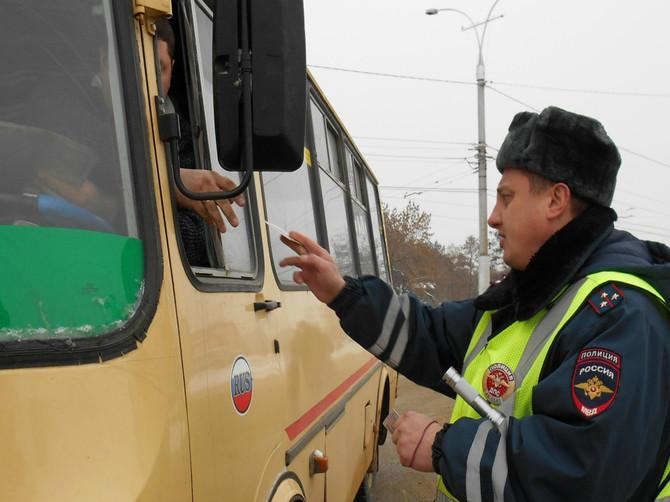 В Клинцовском районе проверят водителей автобусов