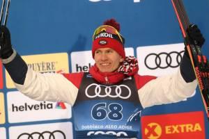 Брянский лыжник Большунов стал первым в гонке преследования