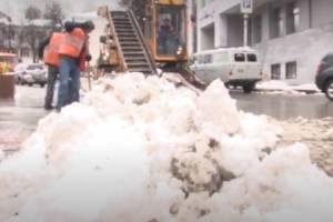 За выходные с брянских улиц вывезли 700 тонн снега