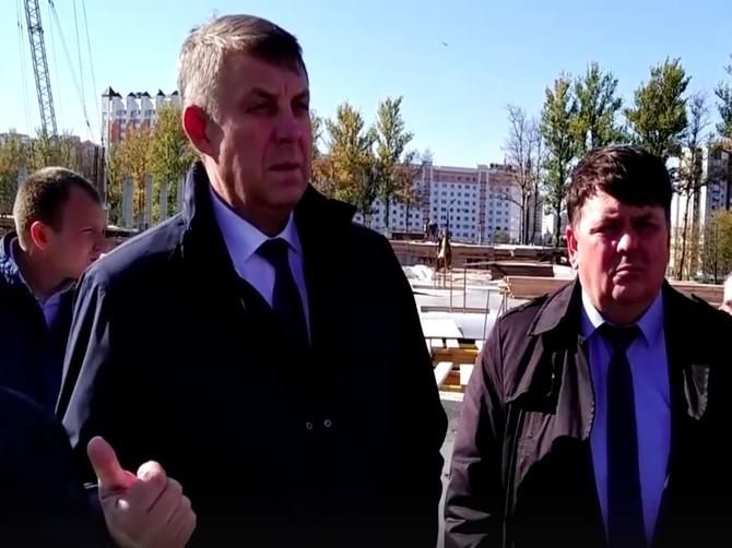 В Брянске срок сдачи Дворца единоборств оказался под угрозой срыва