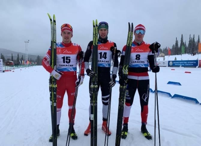 Брянский лыжник Максим Ковалев победил на этапе Кубка России