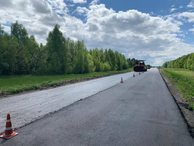 В этом году в Брянской области отремонтируют 600 км автодорог