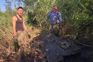 В Суземском районе начались поиски останков погибшего летчика