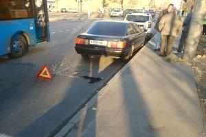 В Брянске возле ЖК «Речной» произошла массовая авария