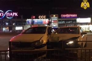 В Брянске ДТП у «Аэропарка» устроил 24-летний водитель Volkswagen