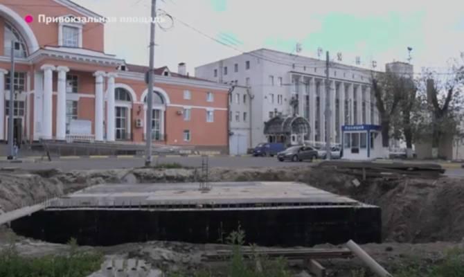 Фонтан на привокзальной площади «Брянск-I» станет изюминкой областного центра