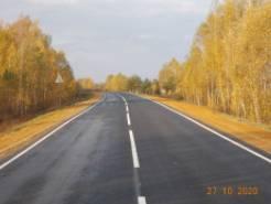 Между Стародубом и Климово обновили 8 километров дороги