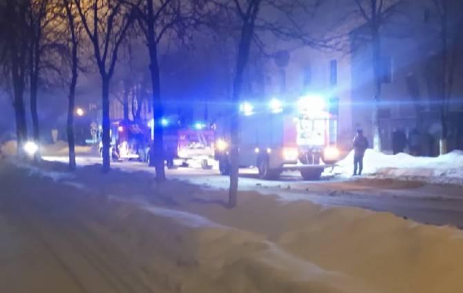 В Брянске загорелась квартира на улице Пушкина