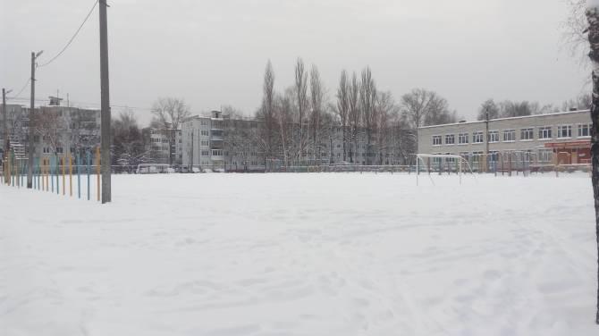 В Брянске детей оставили без ледового катка на стадионе школы №55