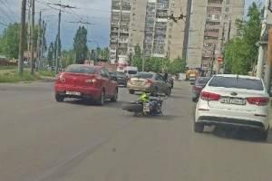 В Брянске на улице Литейной сбили мотоциклиста