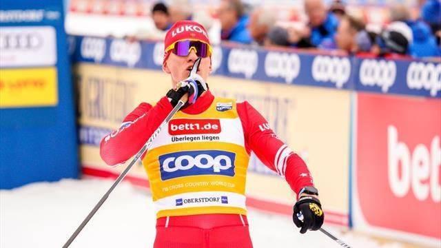 Брянский лыжник Большунов не получил призовые за победу в Холменколлене