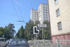 В Брянске полицейские в адскую жару вышли на спасение водителей
