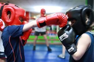 В Климово после капремонта открыли зал для бокса