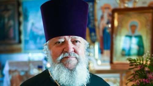 В Брянске настоятель Владимирского храма отметил 70-летний юбилей