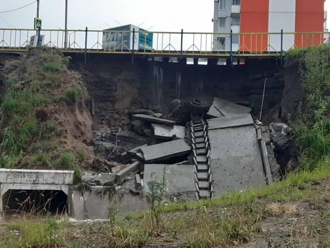 Позор Богомаза: на выезде из Брянска может рухнуть дамба