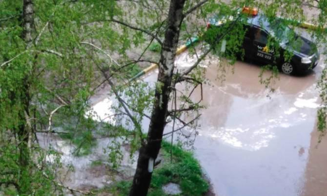 В Брянске новая ливнёвка на Пилотов не спасла от потопа
