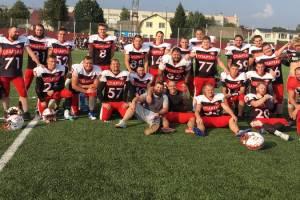 Брянский «Спартак» вышел в финал Кубка России по американскому футболу