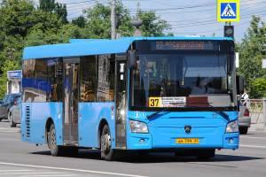 В Брянске увеличили количество автобусов №37