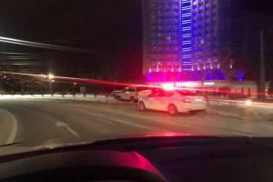 В Брянске на улице Дуки бывший судья устроил ДТП