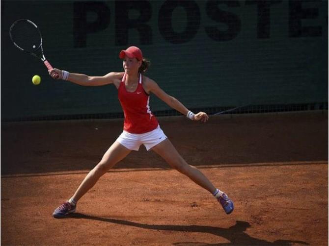Брянская теннисистка Влада Коваль выступила в Стамбуле