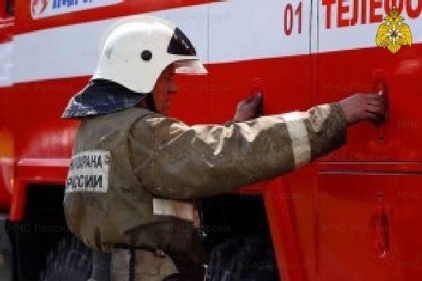 Под Карачевом сгорел жилой дом