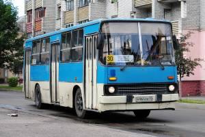 В Брянске изменилось расписание автобуса №30