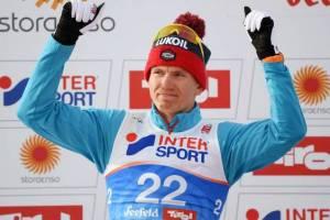 Брянский лыжник Александр Большунов поблагодарил болельщиков за поддержку