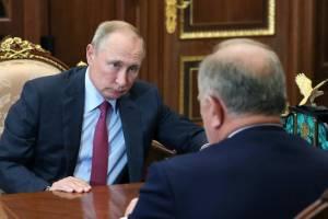 Зюганов пожаловался Путину на брянского губернатора из-за выборов