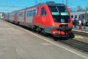 В Брянской области изменится маршрут пригородных поездов до Комаричей