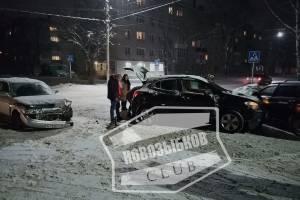В Новозыбкове на перекрестке произошло массовое ДТП
