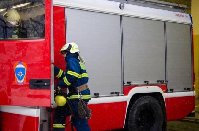 В Рогнедино банный день закончился пожаром