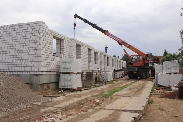 В Злынке стартовало строительство дома для детей-сирот