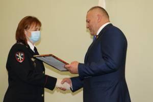 В Брянске полицейских поздравили с профессиональным праздником
