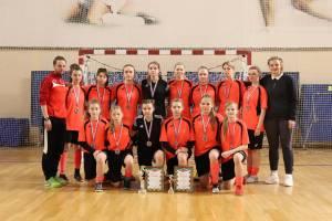 Брянские девочки завоевали бронзу на турнире по мини-футболу