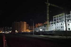 В Брянске тьма накрыла новый участок улицы Горбатова
