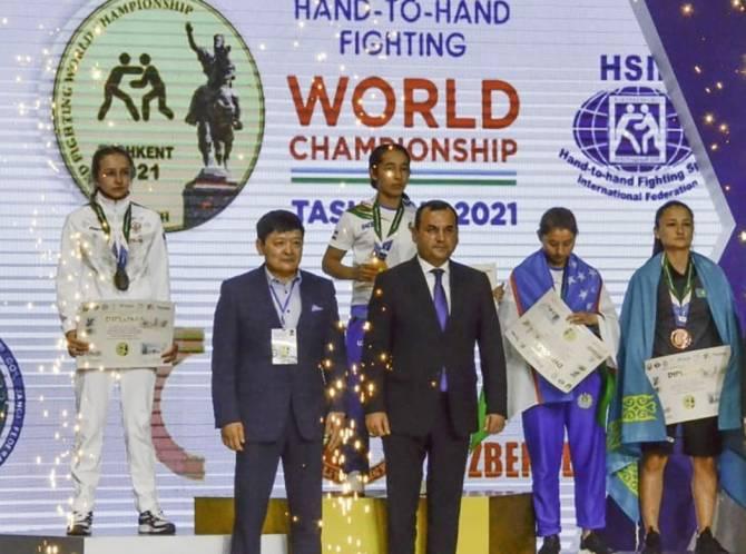 Брянская рукопашница упустила титул четырёхкратной чемпионки мира