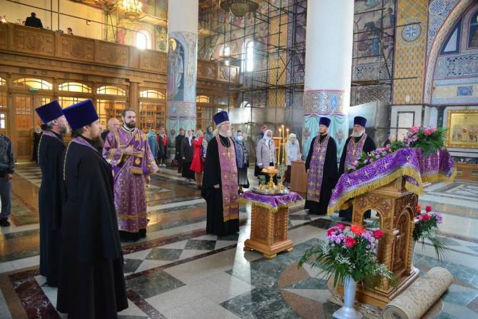 На Брянщине православные верующие отмечают Воздвижение