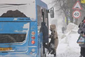 В Брянске снова предупредили о задержках в движении автобусов