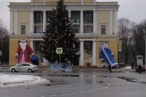 В Брянске после новогодней ночи заметили «пьяную» Снегурочку