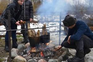 В заповеднике «Брянский лес» прошли практику юннаты из Москвы