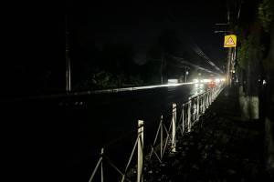 В Брянске погрузилась во мрак дорога на Володарку