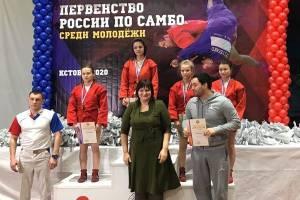 Брянская самбистка Дарымова стала третьей на первенстве России