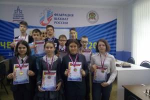 Юные брянские шахматисты разыграли первенство города по блицу