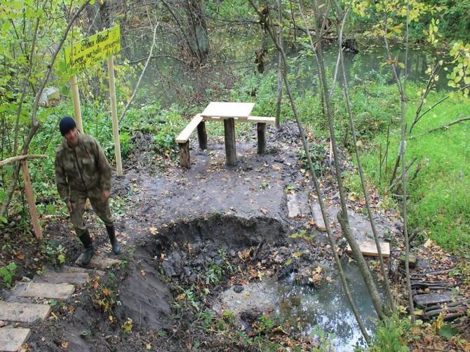 В Брянской области приступили к спасению родников